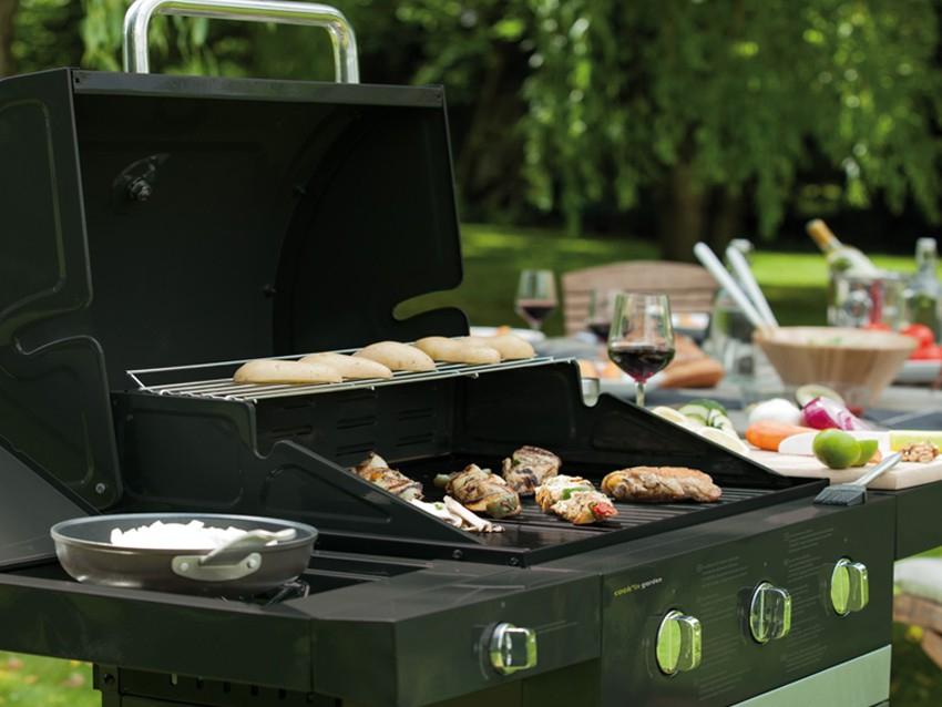 Barbecue grill jardin d coration - Decoration jardin barbecue ...