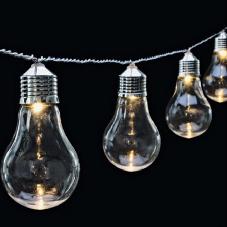 guirlande led party lights jardin d coration. Black Bedroom Furniture Sets. Home Design Ideas