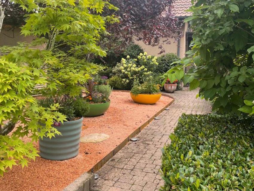 Aménagements massifs, plantation pots, bacs – Genève