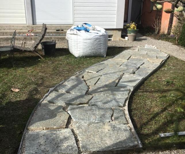 Aménagement allée jardin – Genève