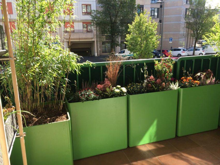 Aménagement balcon – Carouge