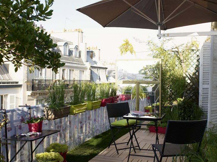 Terrasse, balcon, attique – Jardin&Décoration
