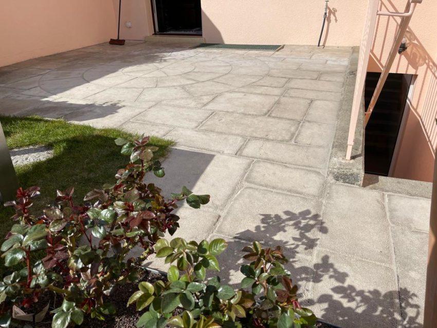 Réfection joints dalles pavés terrasse – Troinex, Genève